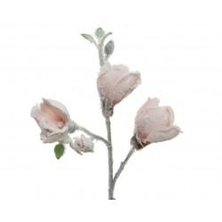 Tige artif fleurie floq...