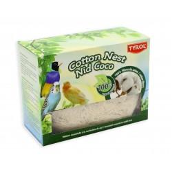 Nid fibres coton oiseaux...