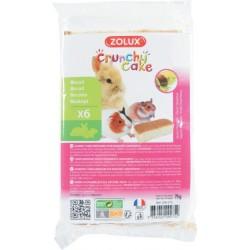 Crunchy cake noisette x6