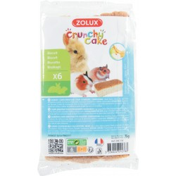 Crunchy cake pomme/banane x6