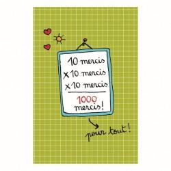 Carte double (+ env) 1000...