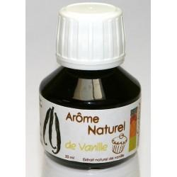 "Arôme naturel vanille"" - 50ml"""