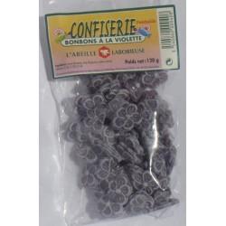 Bonbons saveur violette 120g