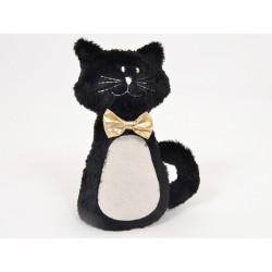 Aisance cale-porte chat noeud