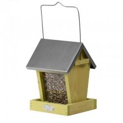 Mangeoire oiseaux silo combi