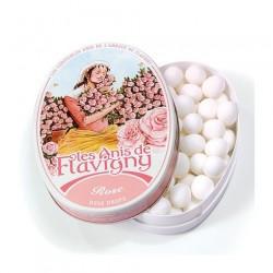 Bonbons rose boite ovale 50g