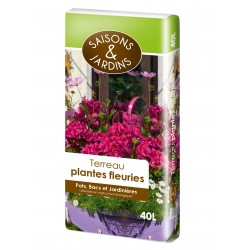 Terreau plantes fleuries...