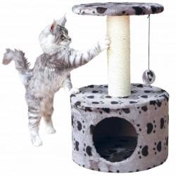 Arbre à chat Toledo 61cm gris