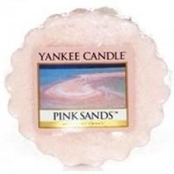 Bougie tarte sables roses...
